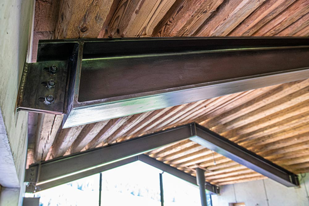Dachträger sichtbar